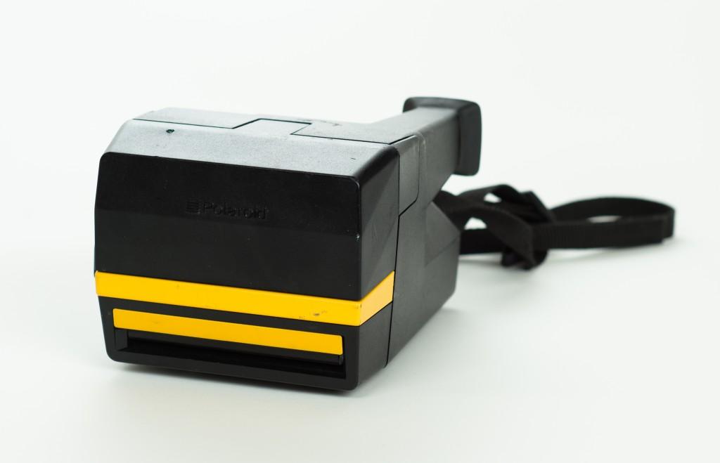 Polaroid Job Pro folded