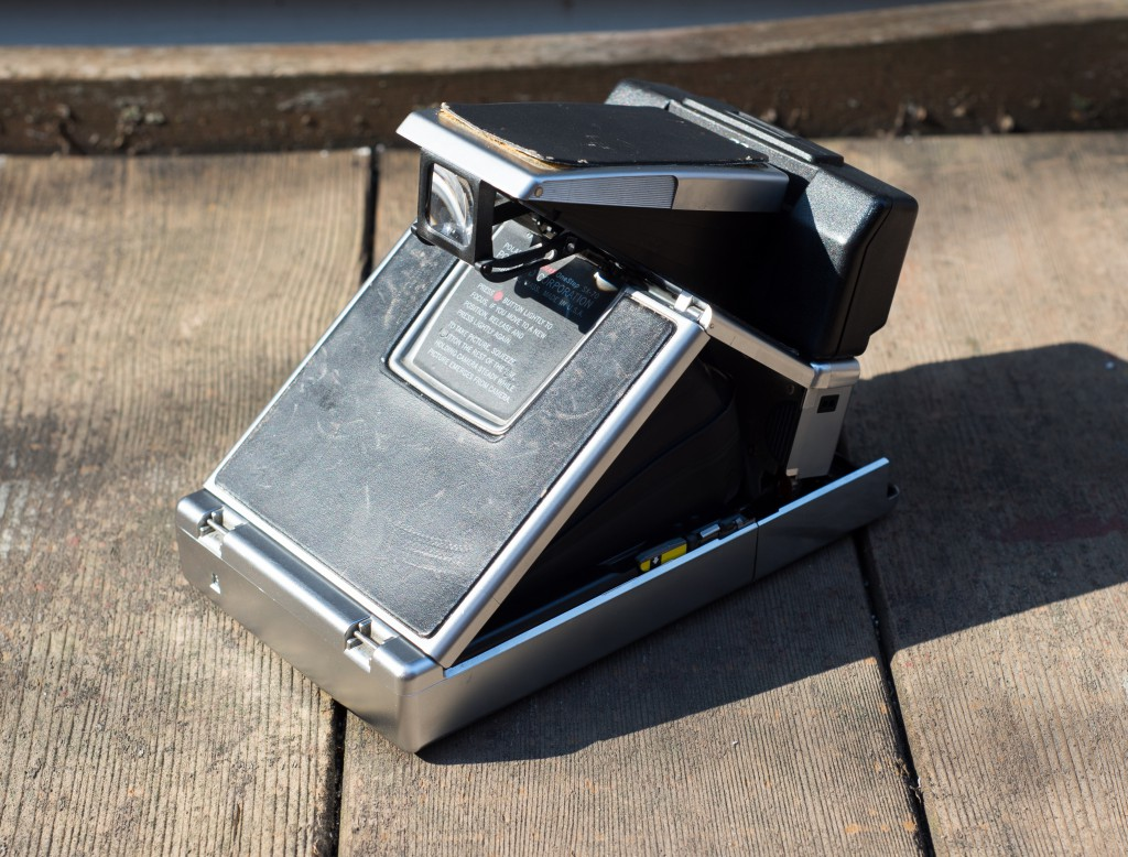 SX-70 Land Camera Sonar Back