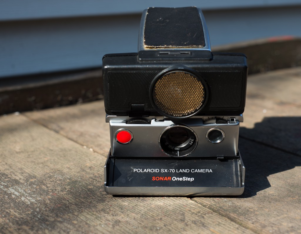 SX-70 Land Camera Sonar Front