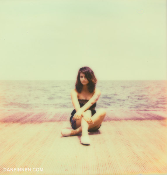 Even current generation Impossible Project color films show color shifts, which can have a fantastic effect on photos.