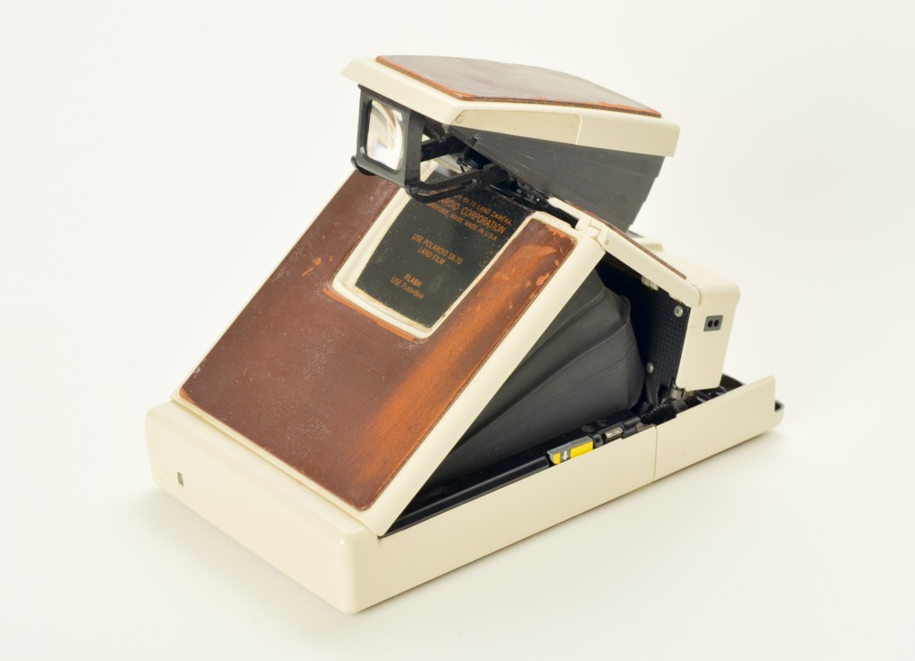 Polaroid SX-70 Land Camera Model 2 Back