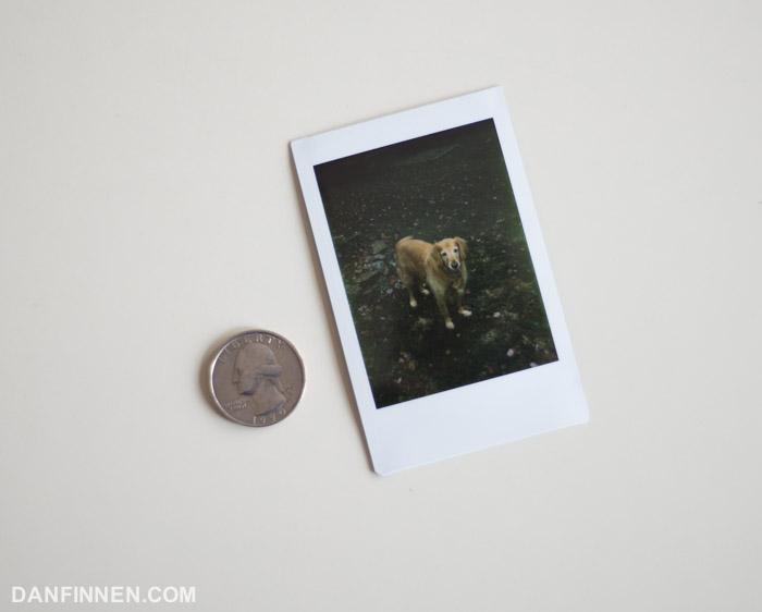 New review: Fuji Instax Mini Instant Film