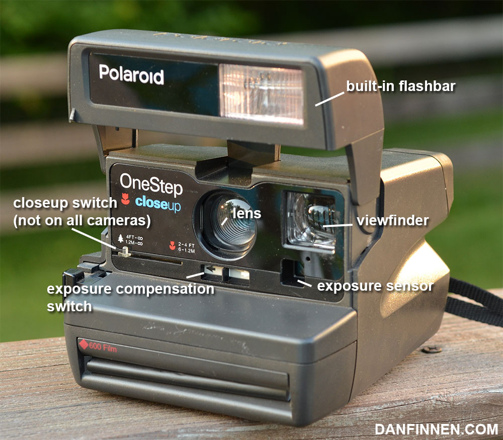 Front of the Polaroid OneStep Closeup