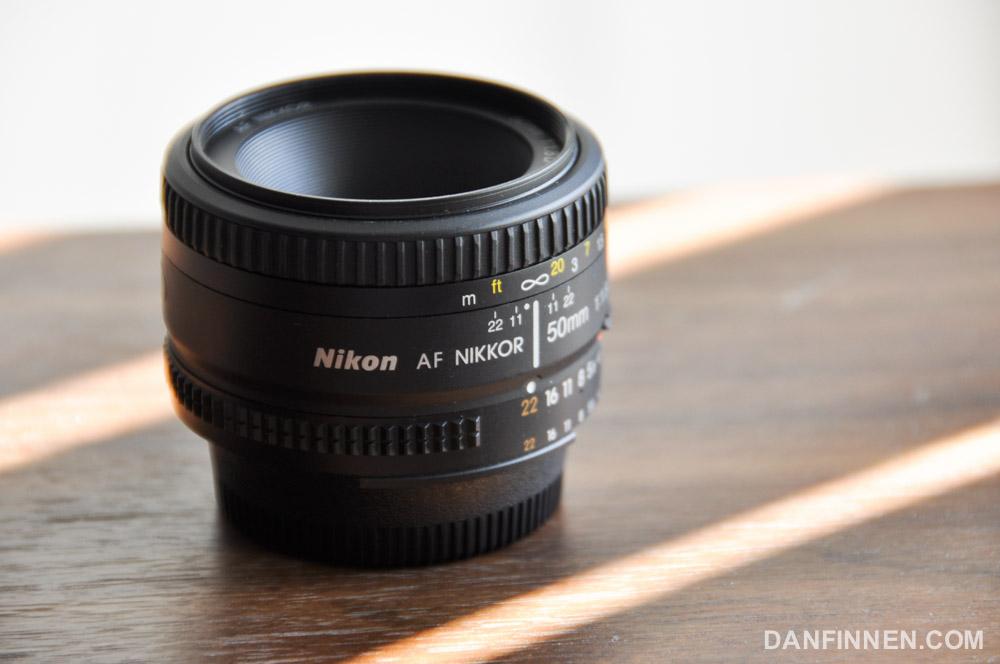 Nikon 50mm f1.8 AF-D lens