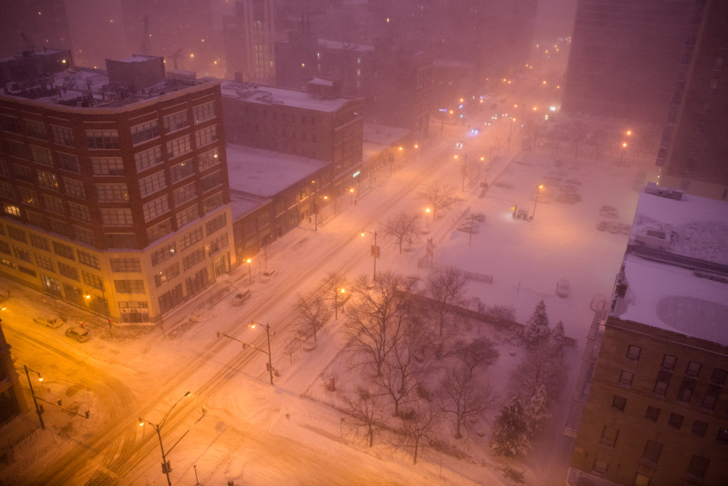 South Loop Snow