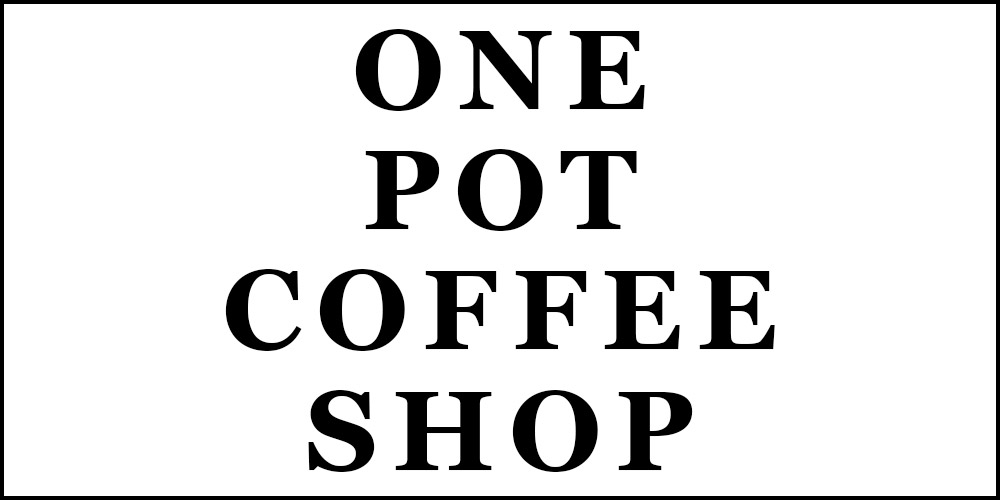 New Screenplay: One Pot Coffee Shop