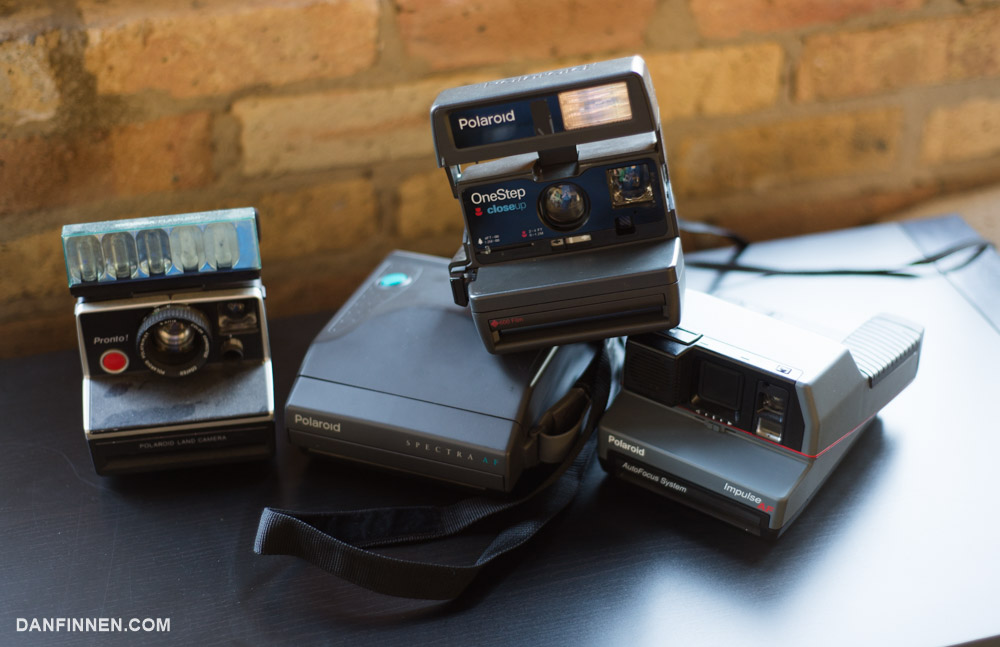 There are a seemingly infinite amount of box type Polaroid cameras out there that encompass the SX-70, 600 and Spectra formats Polaroid created.
