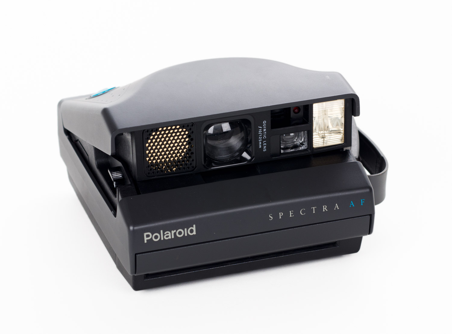 The Spectra AF is an example of a Polaroid camera with sonar autofocus, a very handy feature.