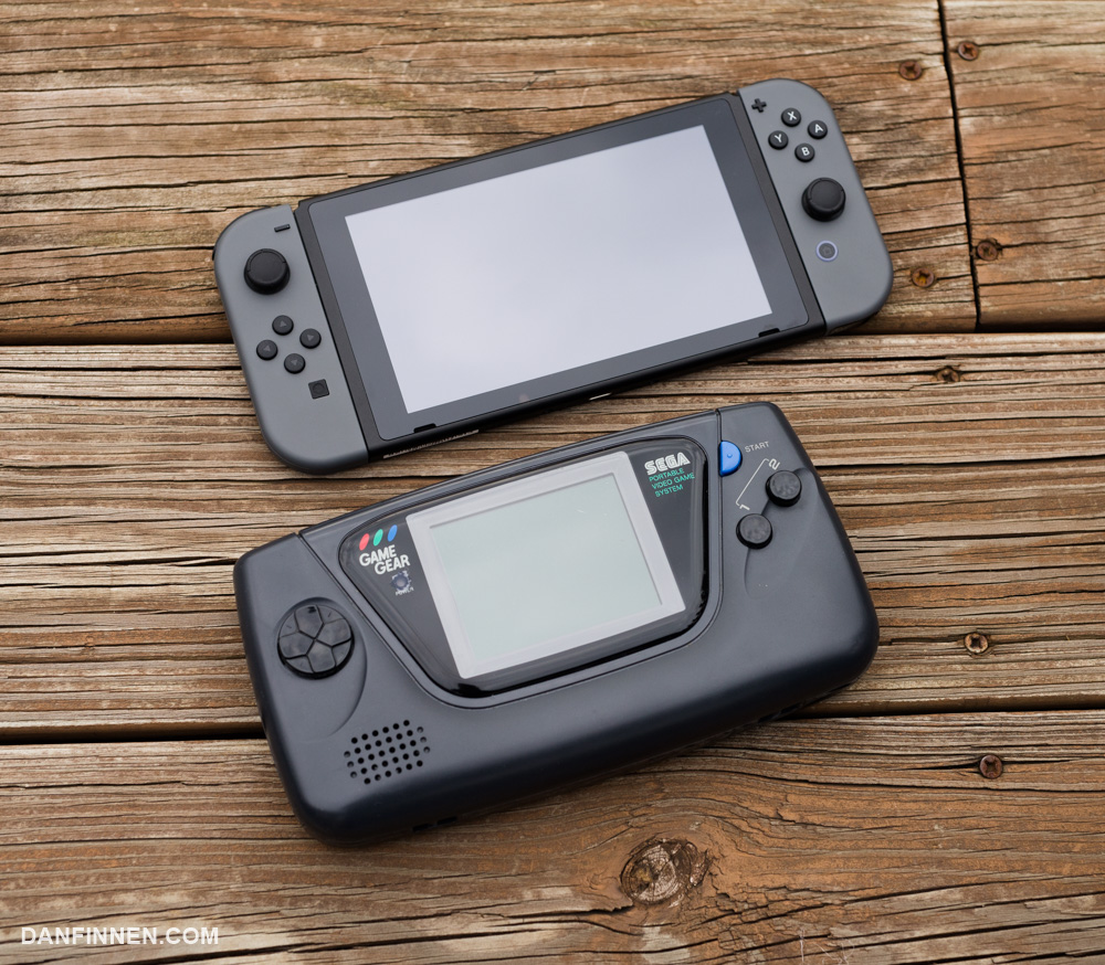 The Nintendo Switch Versus… The Sega Game Gear