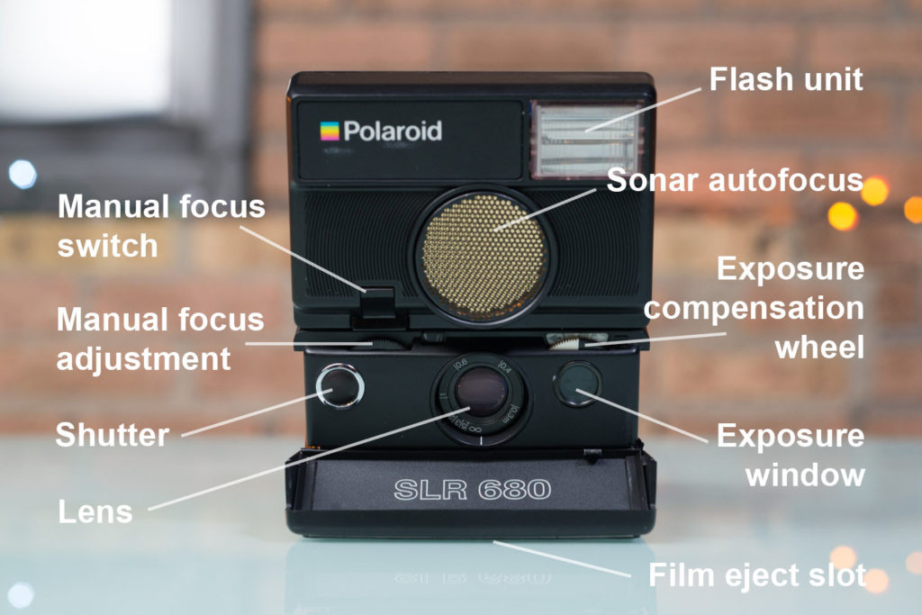 New: Polaroid SLR 680 Guide and Instax Wide Monochrome Review