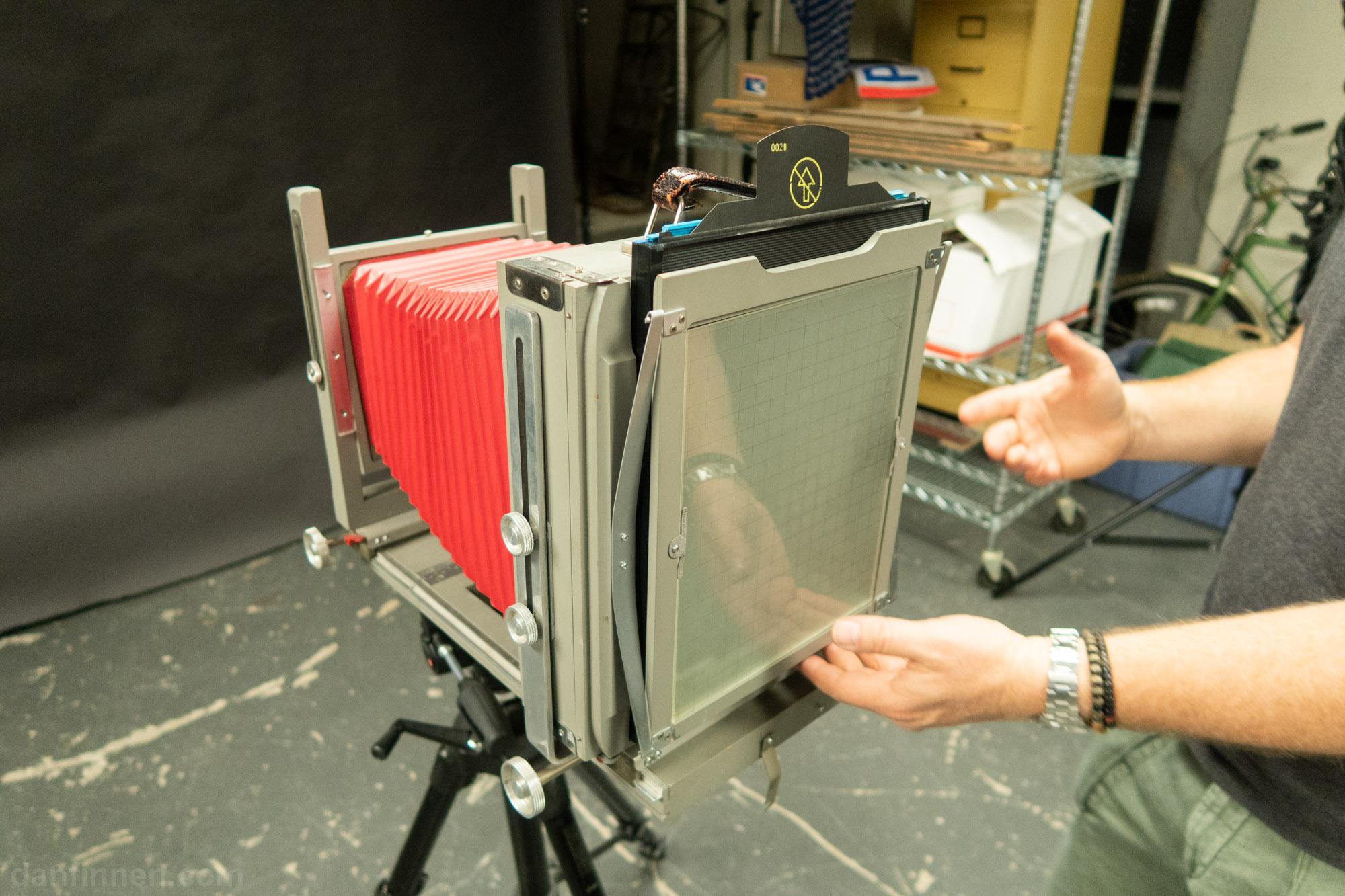 How to Shoot Large Format 8×10 Polaroid Originals Instant Film